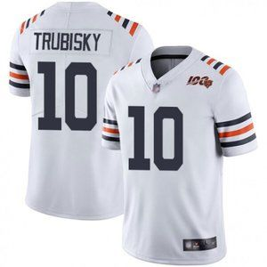 Bears Mitchell Trubisky White Jersey
